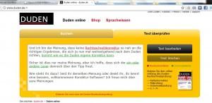 Free german spellchecker from Duden