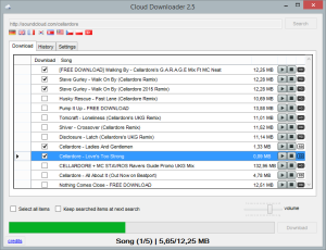 Update: Cloud Downloader 2.5