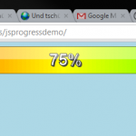 Tutorial: How to create a simple HTML5 JavaScript based progress bar