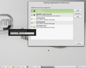 How to manage autostart applications on Linux Mint?
