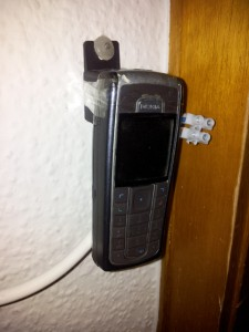 How to build a low-cost GSM door opener