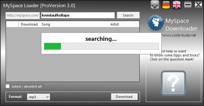 Myspace Mp3 Downloader Free Online ••▷ SFB