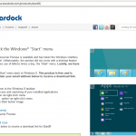 Stardock Start8 Website Screenshot