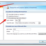 Activate Developer Tab in Office 2007 (2)
