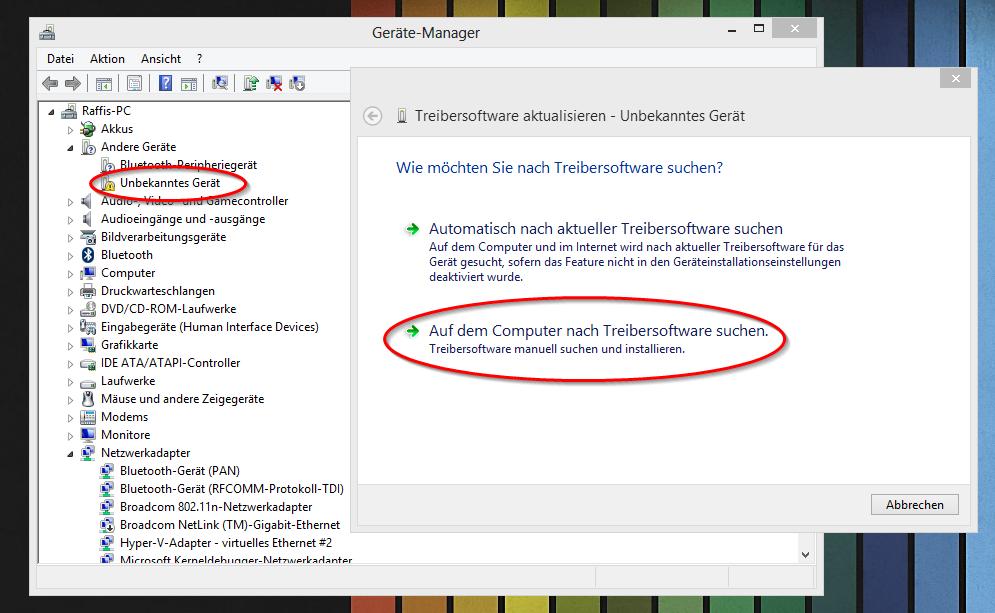 How to install Arduino drivers on Windows 8 | en code-bude net