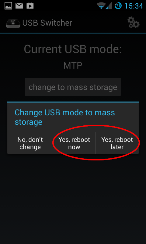 How To Activate Usb Mass Storage And Developer Options On