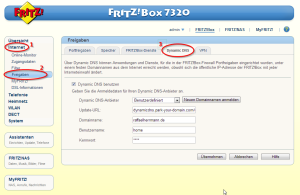 Fritzbox Namecheap DynDNS