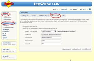 Fritzbox Namecheap DynDNS
