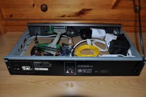 RadioduinoWRT - Rückansicht geöffnet