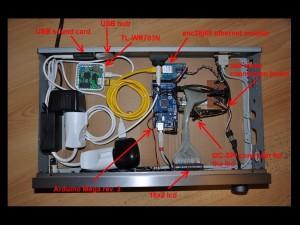 RadioduinoWRT - Komponenten