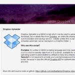 dropbox-uploader
