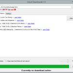 Cloud Downloader 2.5 - History