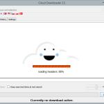 Cloud Downloader 2.5 - Search load header information