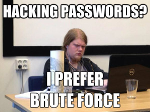 Was ist Brute Force?
