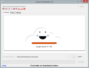 Cloud Downloader 2.6 - Searching
