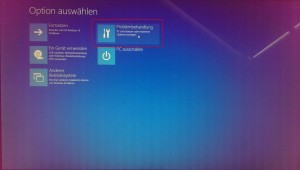 Windows 10 unsignierte Treiber - Optionsmenü (1)