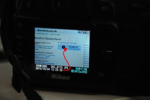 Trick zur Zeitumstellung auf Kameras