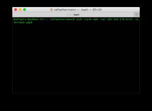 Zugriff auf externe IPs im VPN in Mac OSX (3)