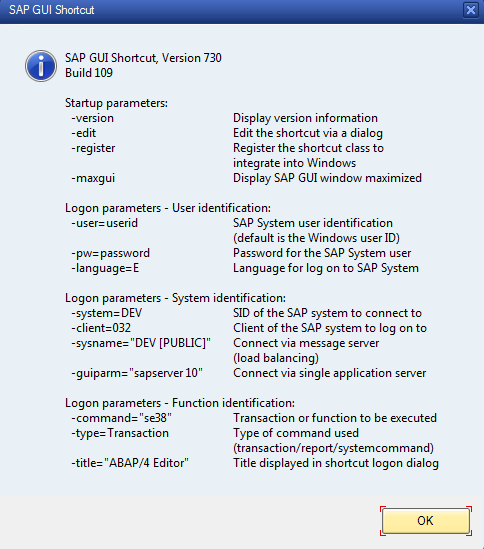 Open SAP GUI from HTML out of your webbrowser | en code-bude net