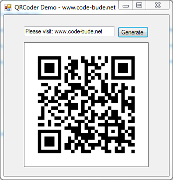 QRCoder – an Open Source QR code generator implementation in