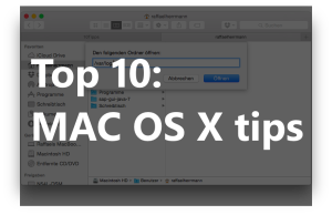 Top 10 OS X tips and tricks